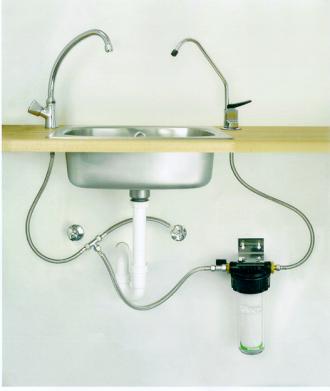 Untertischgerät Küche | Wasserenthartung Wasserentkalkung Wasserfilter Wasserentkalker