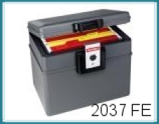 Feuerfeste- u. Wasserdichte Dokumentenbox, lt. Hersteller